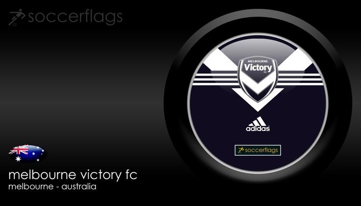 Melbourne Victory FC - Veja mais Wallpapers e baixe de graça em nosso Blog. Visite-nos http://soccerflags.tumblr.com