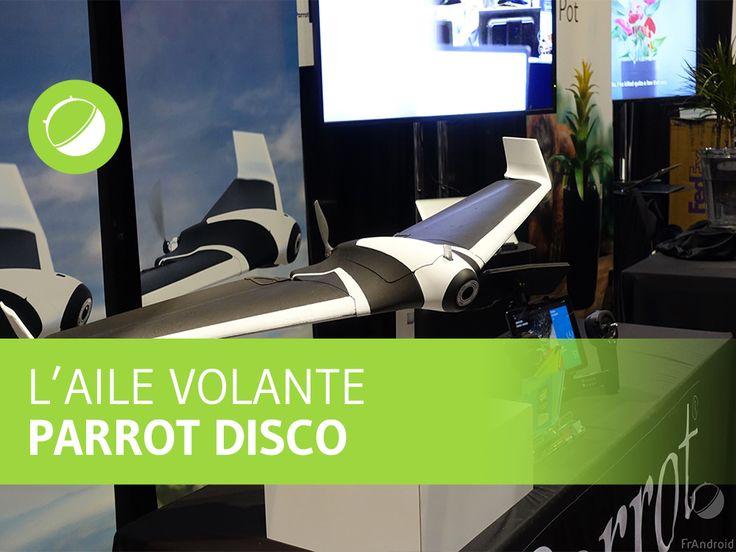 Vidéo : Parrot Disco, tous les détails techniques de l'aile volante - http://www.frandroid.com/video/333618_video-parrot-disco-tous-les-details-techniques-de-laile-volante  #Drones, #Video