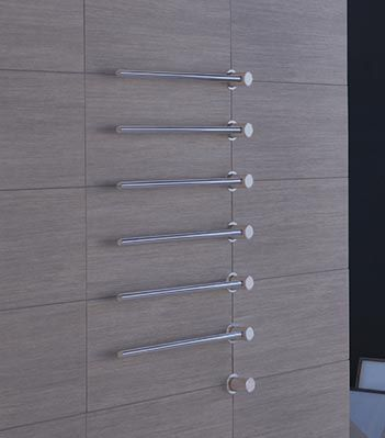 T39W: Build-in modular heated towel…