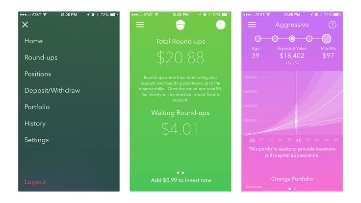 Invest Spare Change in Index Fund Stocks with the Acorns App - http://DesireThis.com/3239 - Acorns is a free downloadable app for iOS and Android that invests your spare change from everyday transactions into your very own diversified portfolio. You can easily get started in minutes: anytime, anywhere.