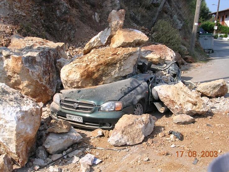 Earthquake on Lefkada - 2003