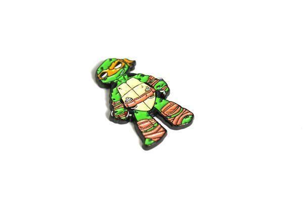 The 84pages 'Graffiti Ninja' Hat Pin- Turtle Michelangelo Graffiti Spray paint    Collectibles, Pinbacks, Bobbles, Lunchboxes, Pinbacks   eBay!