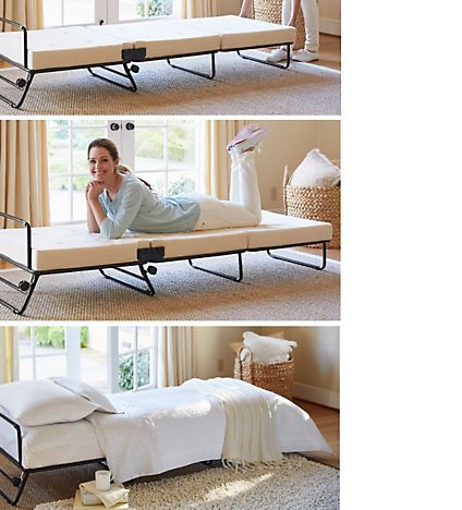 Folding Bed Fold Out Ottoman Bed Sleeper Solutions