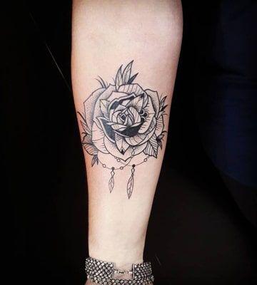 imagenes de rosas para tatuajes negro