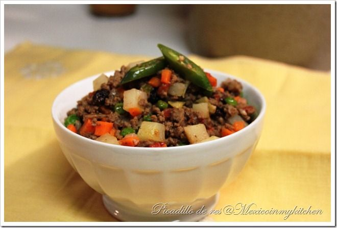 How to Make Picadillo By Mexico in My Kitchen