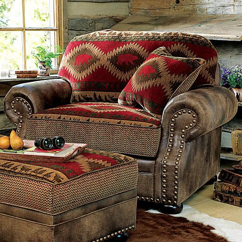 Northern Trails Rustic Bear Chair....... How comfy does this look??? Ooh lovely