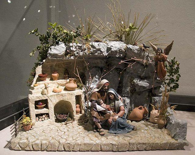 Dioramas de la Asociacion de Amigos del Belen de Zaragoza, expuestos en la Sala Luzan de la CAI de Zaragoza en la Navidad 2007-2008. www.amigosdelbelen.com/  Puedes ver mas fotos de Belenes, Nacimientos... en esta coleccion: www.flickr.com/photos/asemta/collections/72157603621986741/