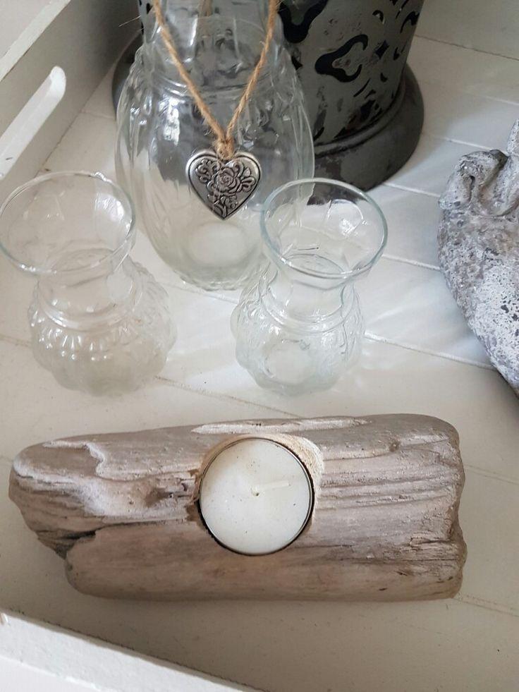 Driftwood candleholder #designedbysam
