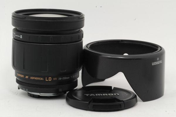 Lensa Nikon Tamron AF 28-200 mm f/ 3.8-5.6, Mulus Mantab!!