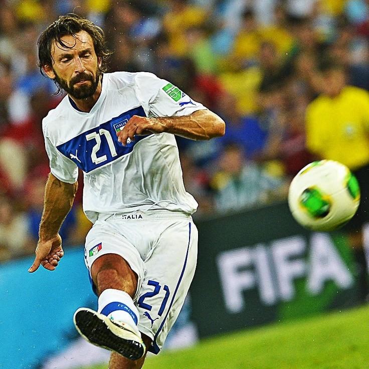 Andrea Pirlo's brilliant free kick against Mexico