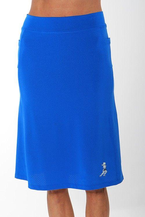 cobalt blue spirit athletic skirt