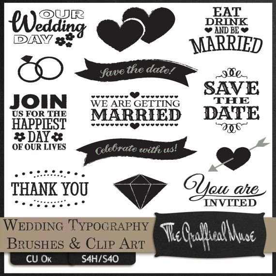 52 Best Images About Clipart Wedding On Pinterest