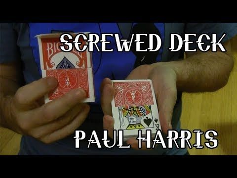 Screwed Deck - Paul Harris Classic Handling
