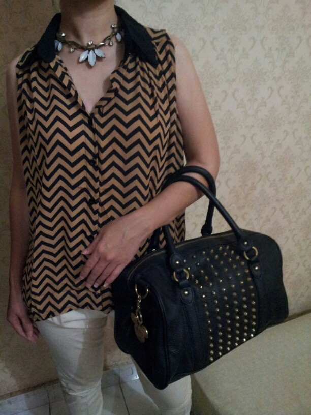 another chevron top top mocca stud chevron edgy