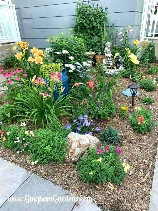 shade garden ideas zone 5 flower garden ideas (With images ...
