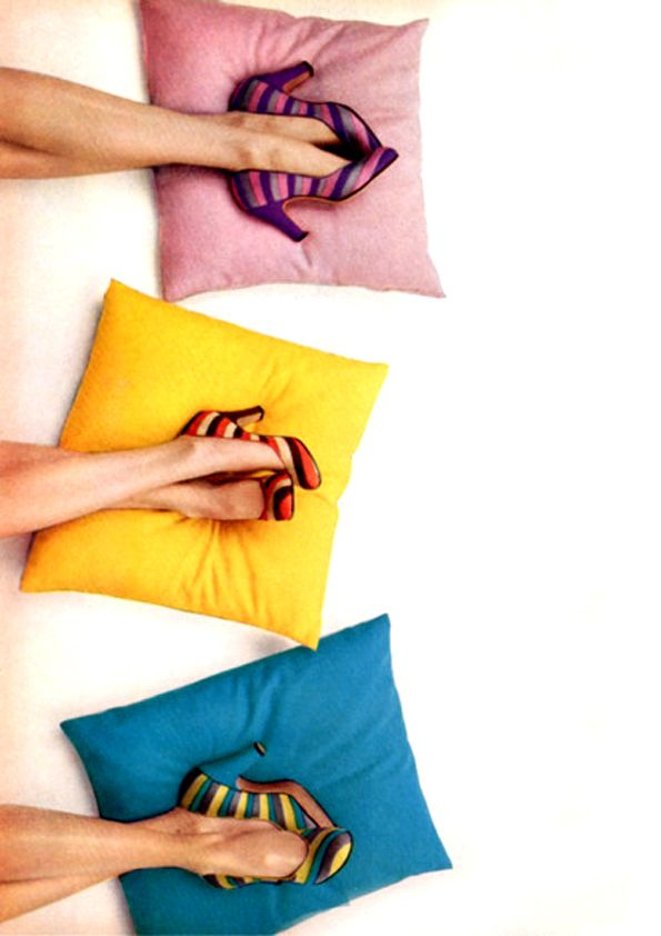 Richard Rutledge - Cushions & Shoes.