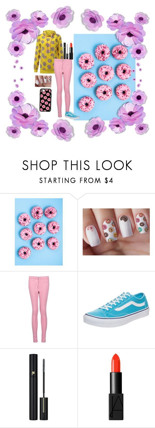 """donuts"" by calybug02 on Polyvore featuring Boohoo, Vans, Lancôme, NARS Cosmetics, Casetify and Donuts"