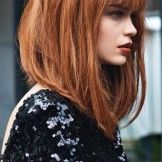 Pretty Thick Angled Bob Hairstyles 2015