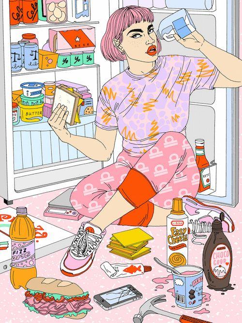 MTV Horoscopes - Laura Callaghan Illustration