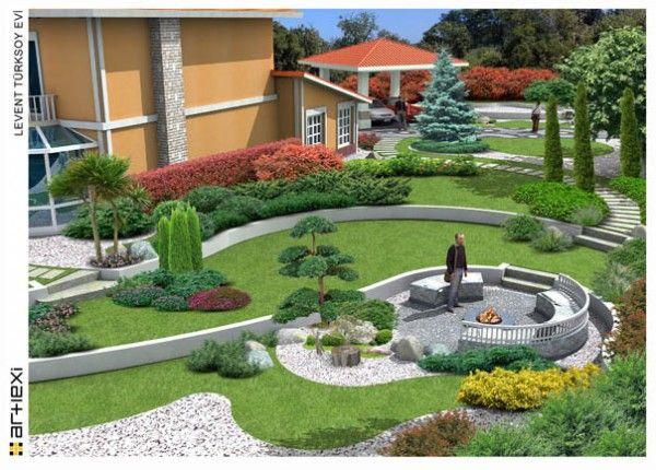 Modern Bahçe tasarımı Örnekleri / Example of modern garden design
