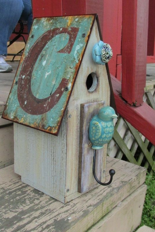 FOR THE BIRDS: Bird Homes-I need a lot more of these for next year!!