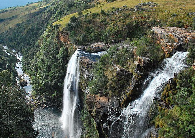 Lisbon Falls, Graskop, Mpumalanga Drakensberg, South Africa