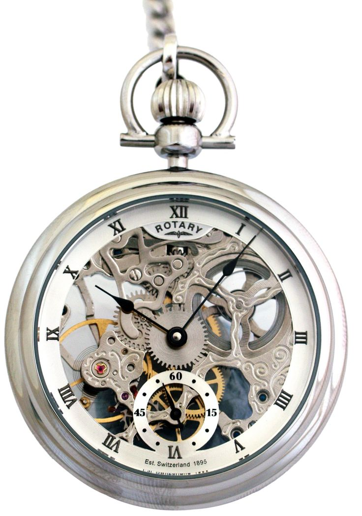 Rotary Skeleton Dial Pocket Watch MP00723/21