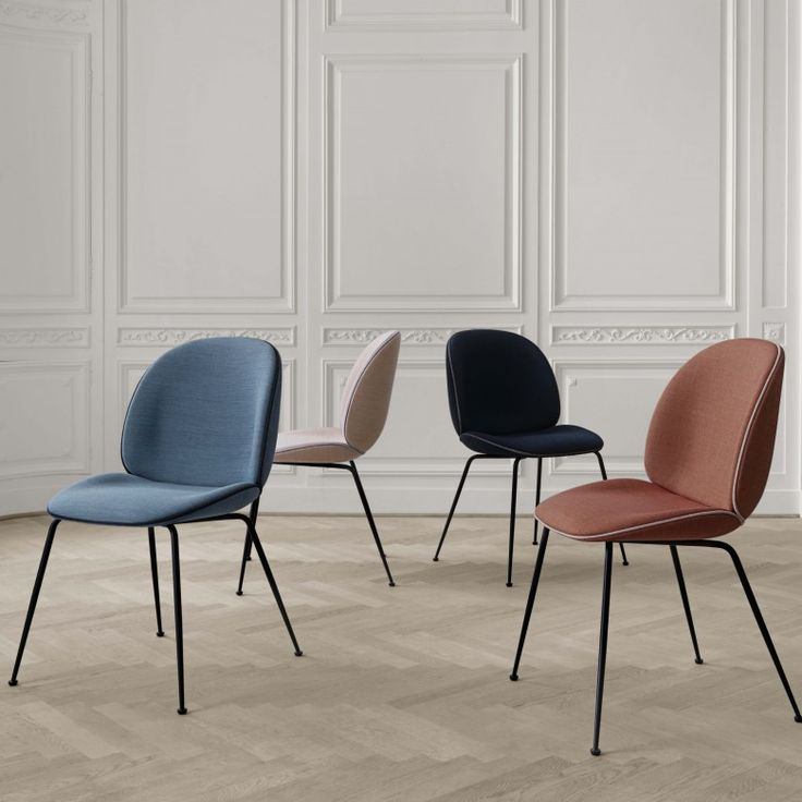 The Gubi Beetle Dining Chair Designed By Gam Fratesi For Is A Curvaceous And Comfortable That Was Inspired
