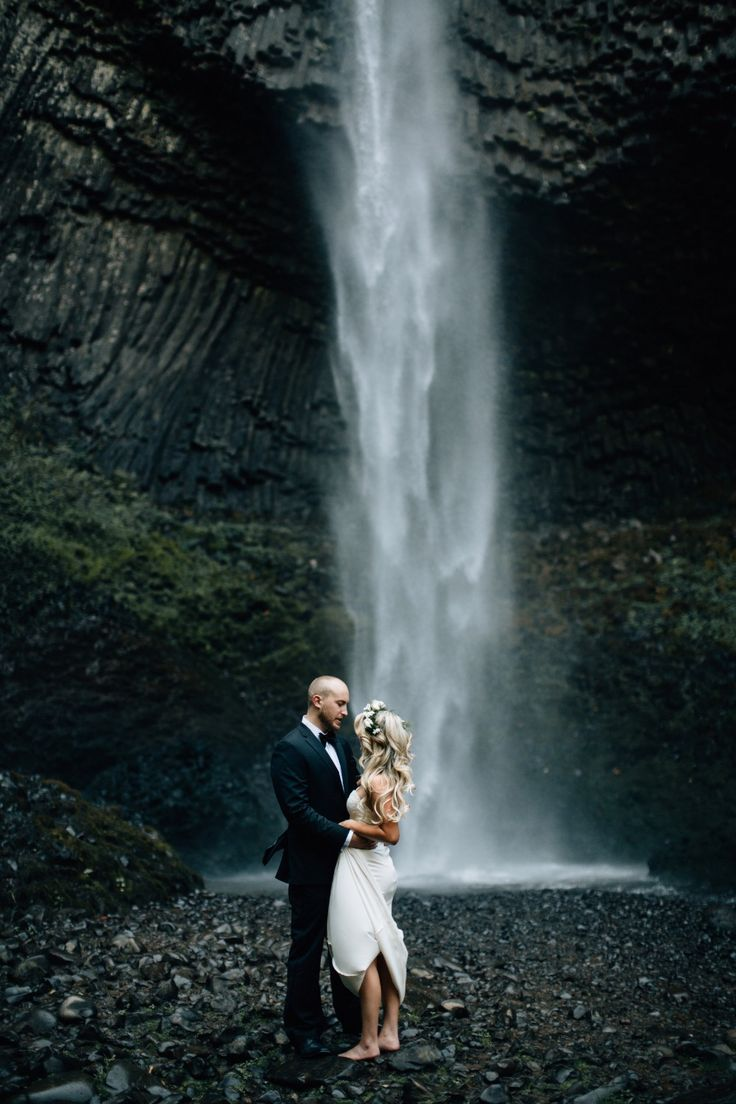 best 20 waterfall wedding ideas on pinterest forest wedding forest photography and elopement ideas