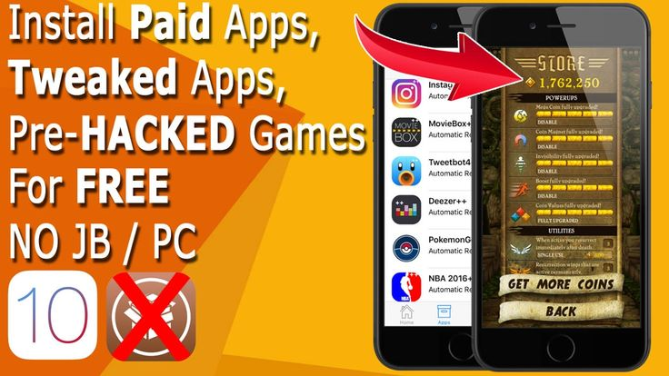 iCydia; Install Paid Apps, Pre-Hacked Games, Tweaked Apps For Free iOS 1...