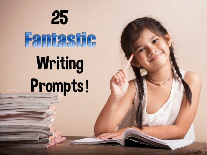 If you are going crazy trying to think of great writing prompts, don't miss this site with 25 fun prompts and a links to a story starter site!