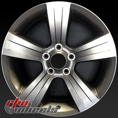 "Jeep Compass wheels for sale 2011-2015. 17"" Hypersilver rims 2380 - http://www.rtwwheels.com/store/shop/17-jeep-compass-wheels-oem-hypersilver-2380-2/"