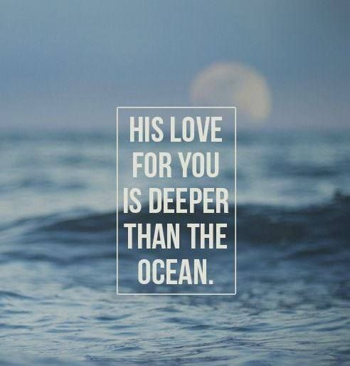 ❥ His love for you