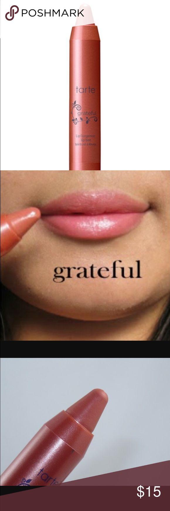 Tarte - LipSurgence lip tint - Grateful. Tarte - LipSurgence lip tint - Grateful. Unopened. 0.10oz. tarte Makeup Lipstick