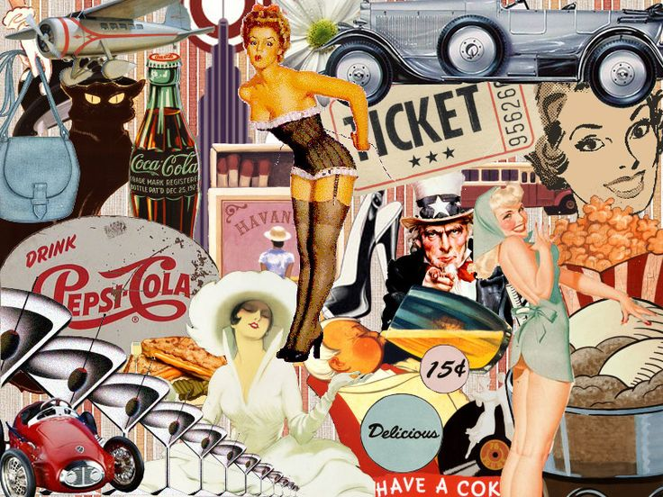 Collage Wallpaper Vintage Collage | Collage - Vintage by ~thebaasch on deviantART iPhone X Wallpaper 525654587727777866 7
