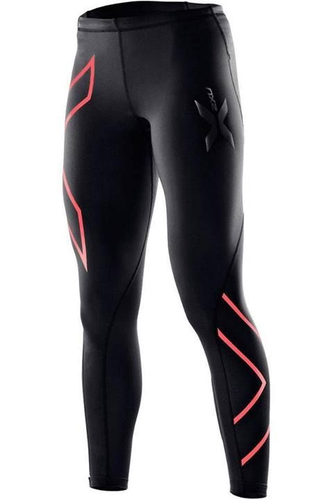 2XU Compression Tights Tangerine