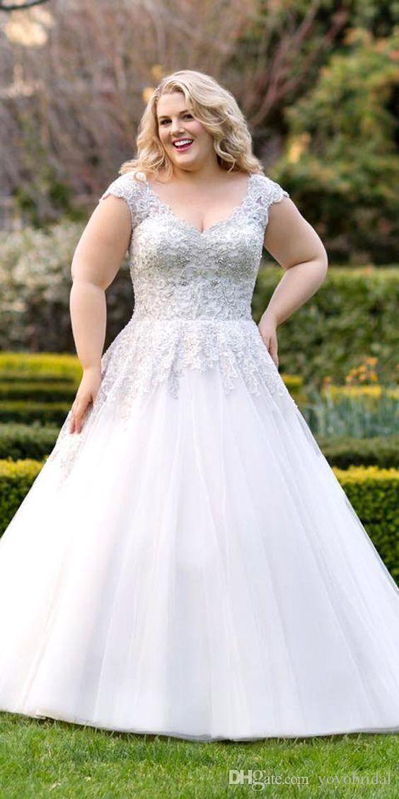 27 best Plus size wedding dresses images on Pinterest ...