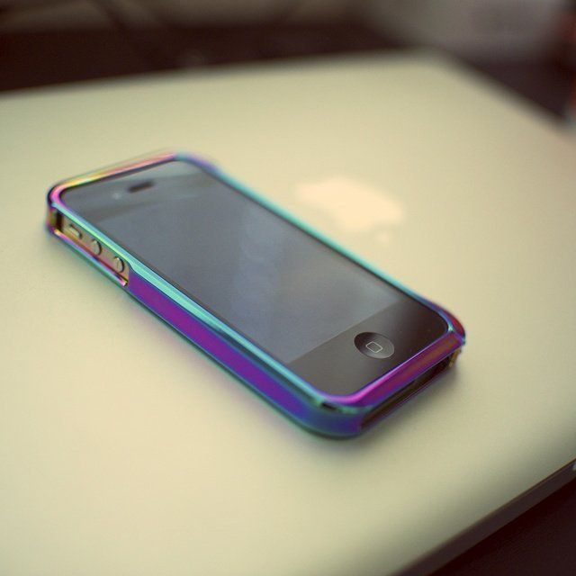 Neochrome Finished iPhone Bumper