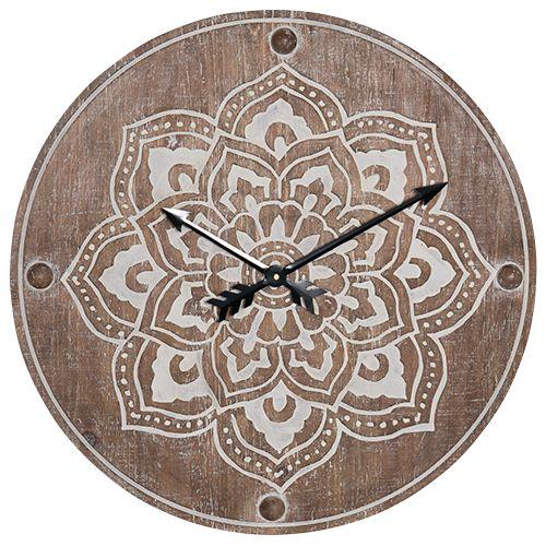 Wall Clock CL3851-Laurel – Nest Maison Decor