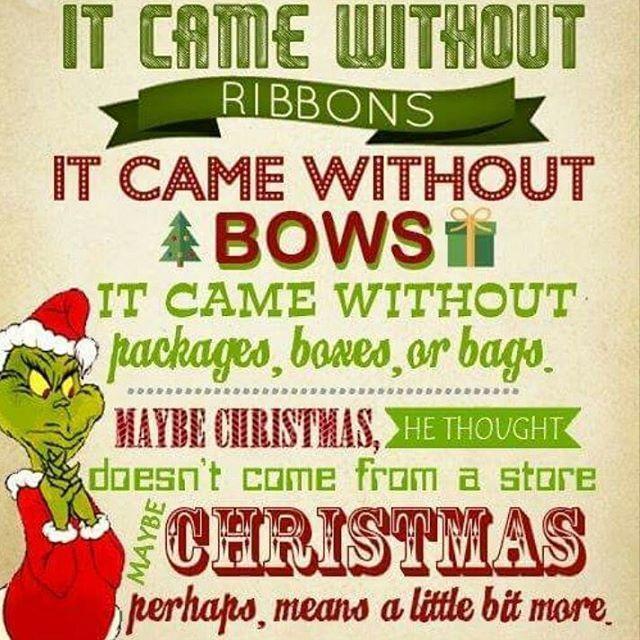 Christmas Perhaps Means A Little Bit More