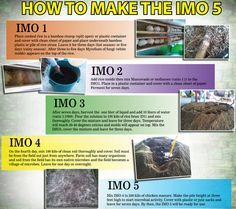 How to make (Indigenous Microorganisms) IMO 1-5.
