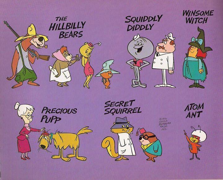 cryptofwrestling:  Some of the Hanna-Barbera All-stars (c.1966)