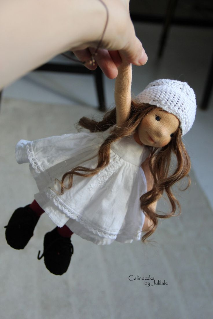 Waldorf inspired doll Thumbelina 1024inch26cm by julilale on Etsy