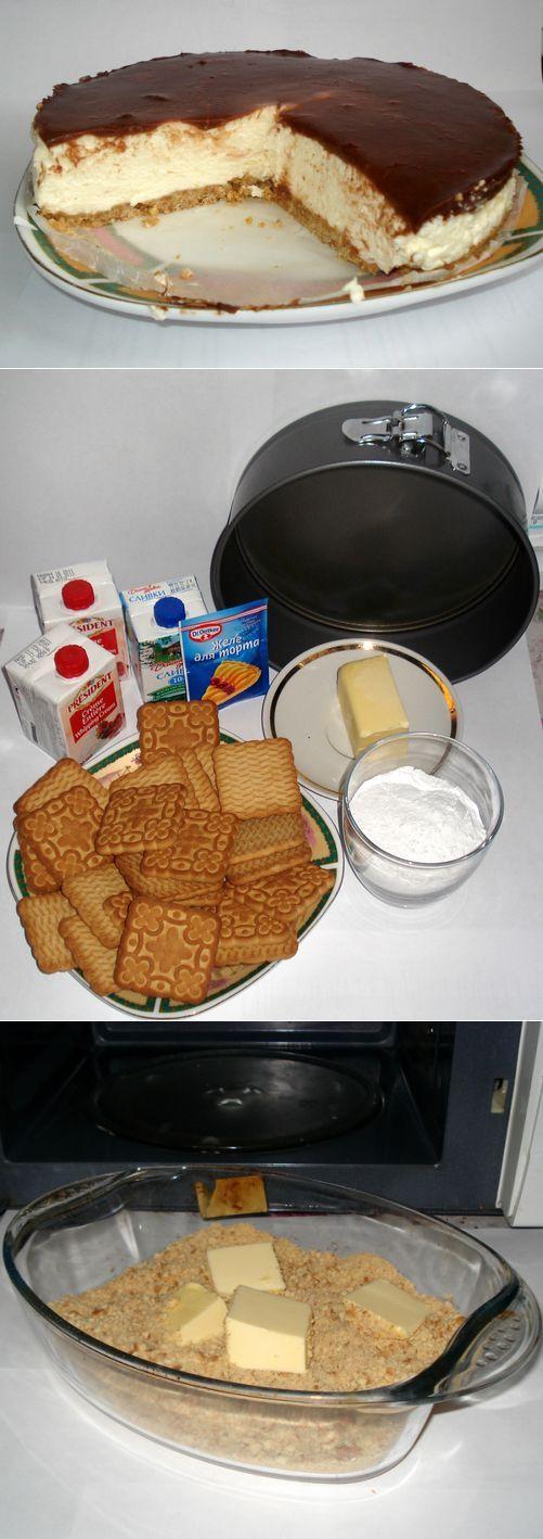 Торт птичье молоко без выпечки (рецепт с фото) | Кулинарные рецепты!