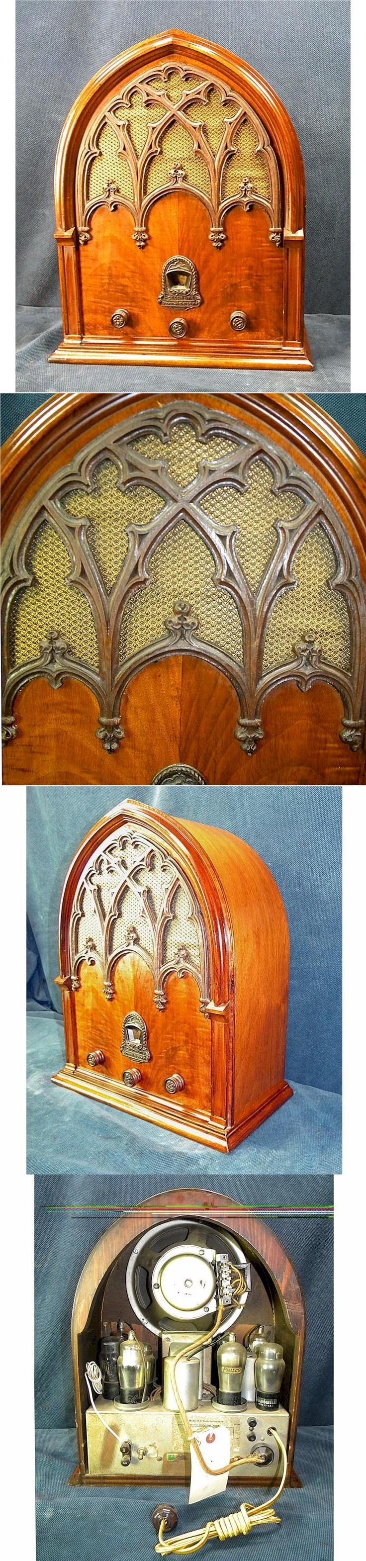 Echophone Gothic Cathedral from the early 1930u0027s---from Radio Attic & 66 best Cathedral Radios images on Pinterest | Radios Antique radio ...