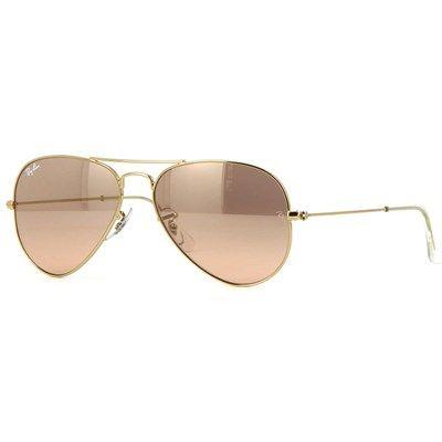 Óculos de Sol Ray Ban Aviador Feminino Rosé - RB3025L0013E