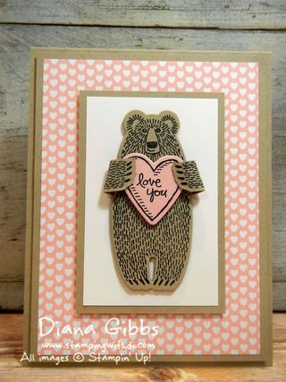 This Weeks Deals ~ Bear Hugs Dies ~ They're Grrrreat!!!! (Stampin' With Di)