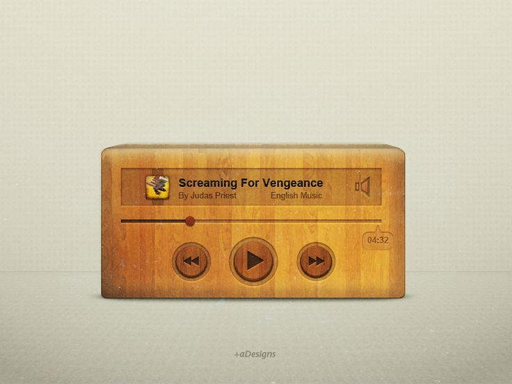 wooden_music_player_ui_by_gbaheti-d5eqxn5.png 800×600 pixels