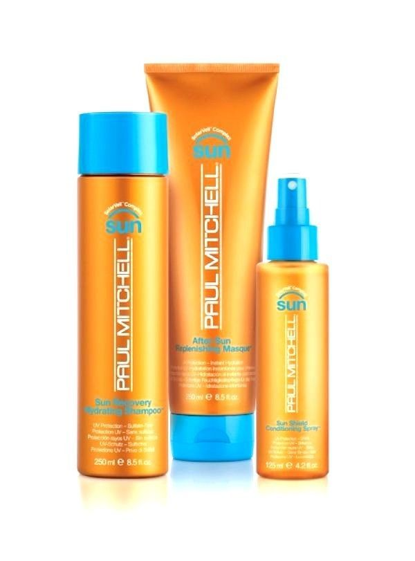 Paul Mitchell Sun Recovery Collection protect every strand with UV protection #PaulMitchell