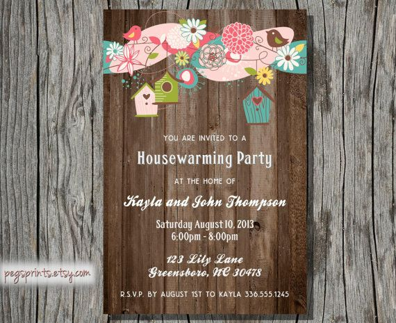 42 best images about house warming party ideas on for Creative housewarming party ideas